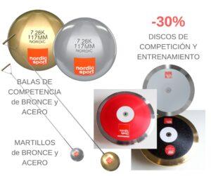 BALAS DE COMPETENCIAde BRONCE y ACERO